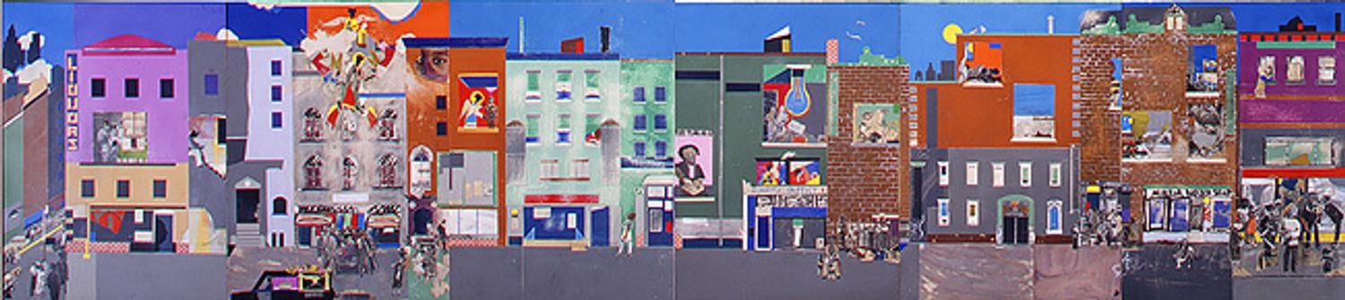 Calendar Metropolitan Museum Of Art : Romare bearden s the block and related drawings on view at