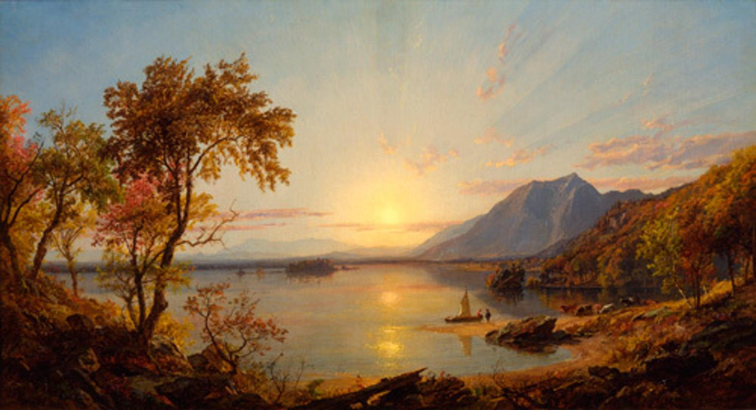 The Hudson River School Nature And The American Vision On