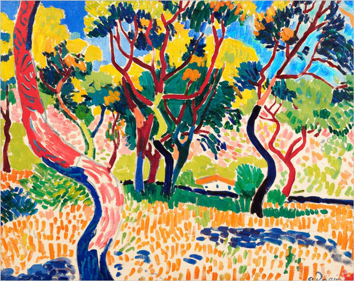 fauvist_Fauvist landscape brightens London auction - ArtfixDaily News Feed