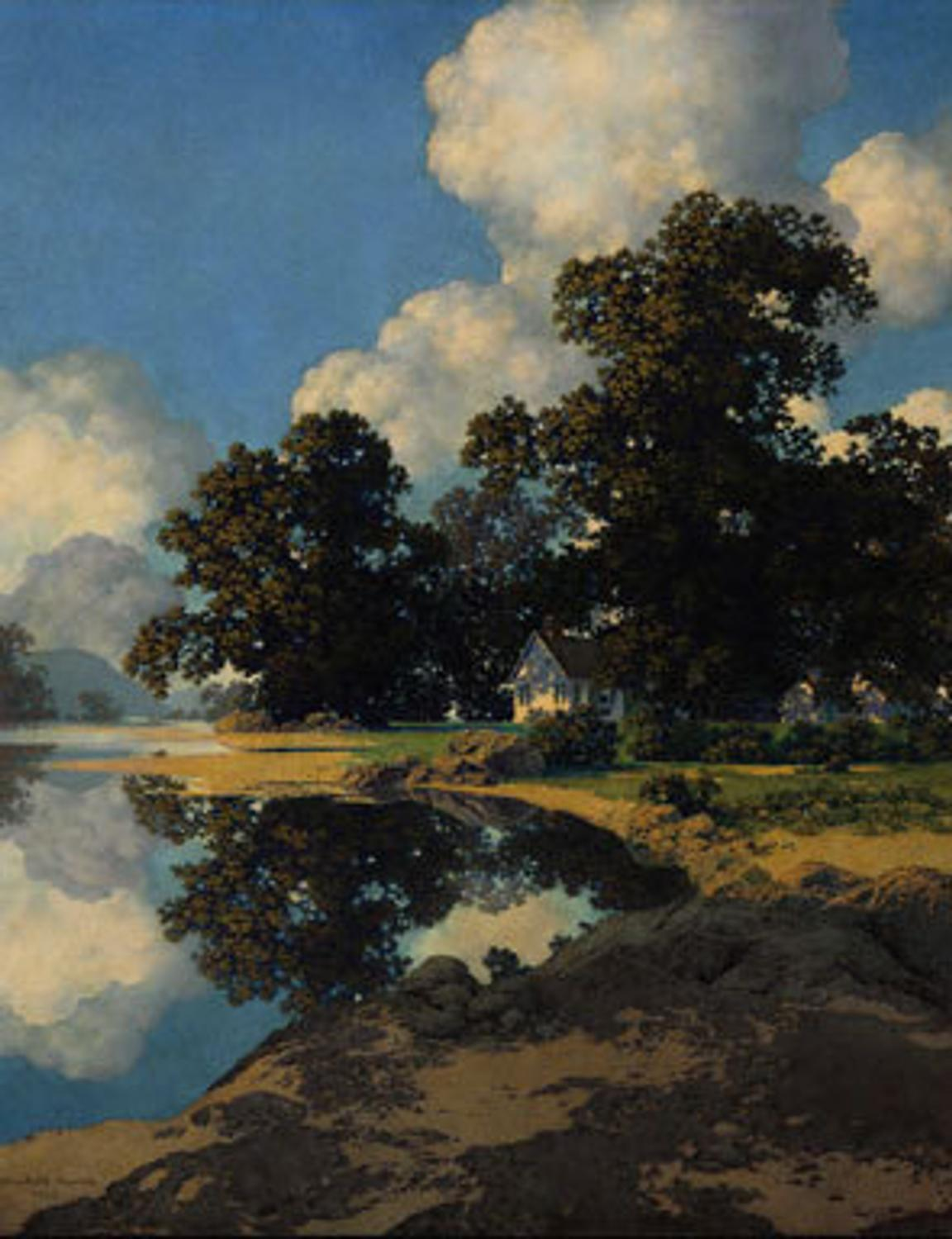 Major Collection Of Maxfield Parrish Works At Christie S