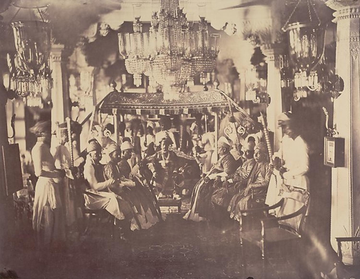 Historic Photographs Of Nineteenth Century India At The