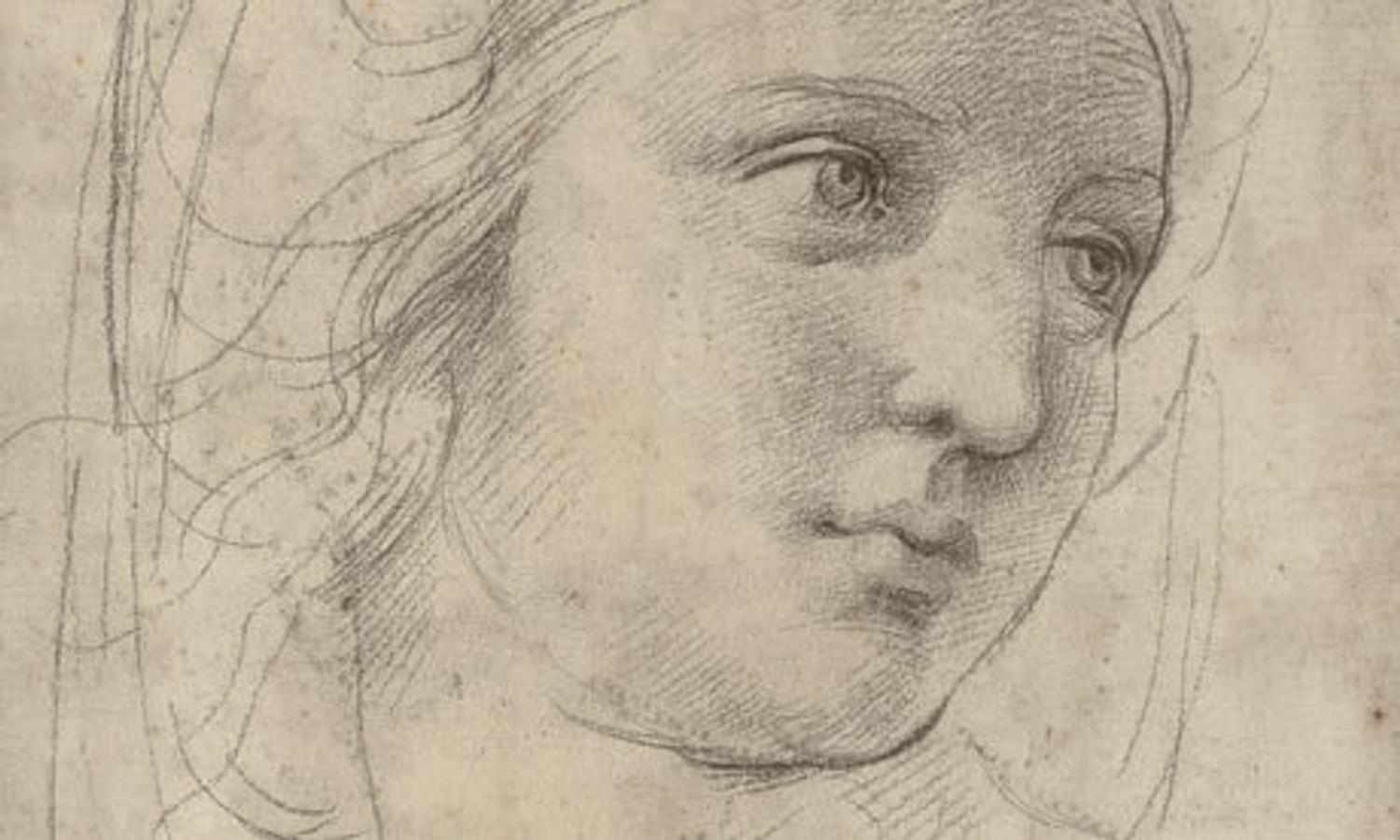 Drawing Lines In Muse : Renaissance genius on the block raphael drawing may break