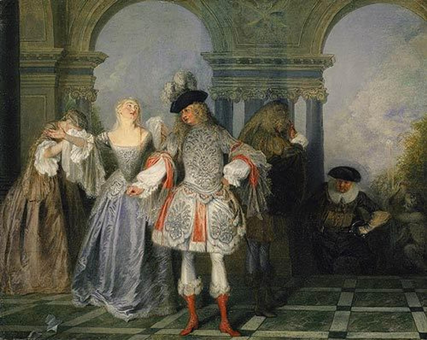 Music Watteau and Theater