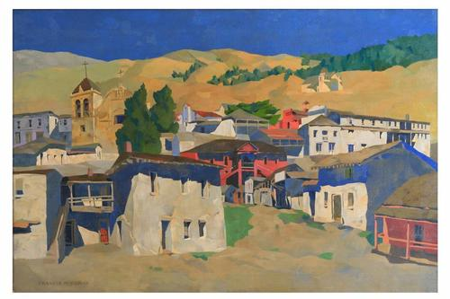 Historic Buildings, Old Monterey by Francis John McComas.  City of Monterey Collection