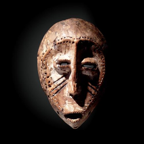 Lega Mask, Late 19th Century, Democratic Republic of Congo, Ancient African Mask