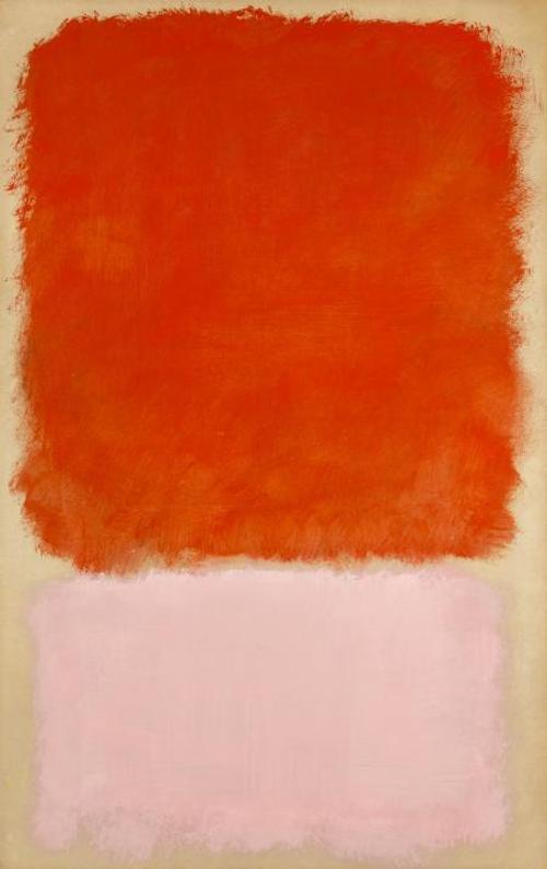 Mark Rothko, American, 1903–1970: Untitled, 1968.  Oil on paper laid down on canvas, 100 x 63.5 cm.  Collection of Preston H.  Haskell, Class of 1960.  © 1998 Kate Rothko Prizel & Christopher Rothko / Artists Rights Society (ARS), New York