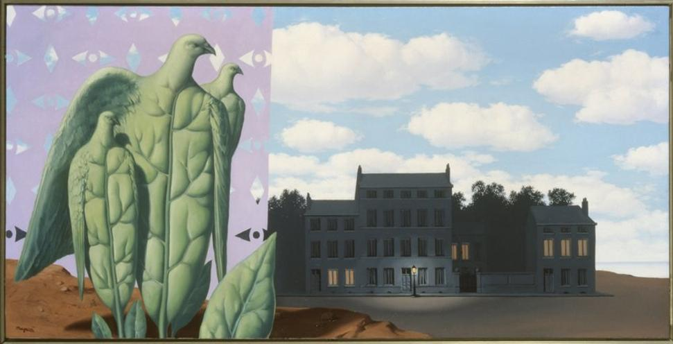 René Magritte, The Enchanted Domain I, 1953; oil on canvas; Würth Collection, Künzelsau, Germany; © Charly Herscovici, Brussels / Artists Rights Society (ARS), New York