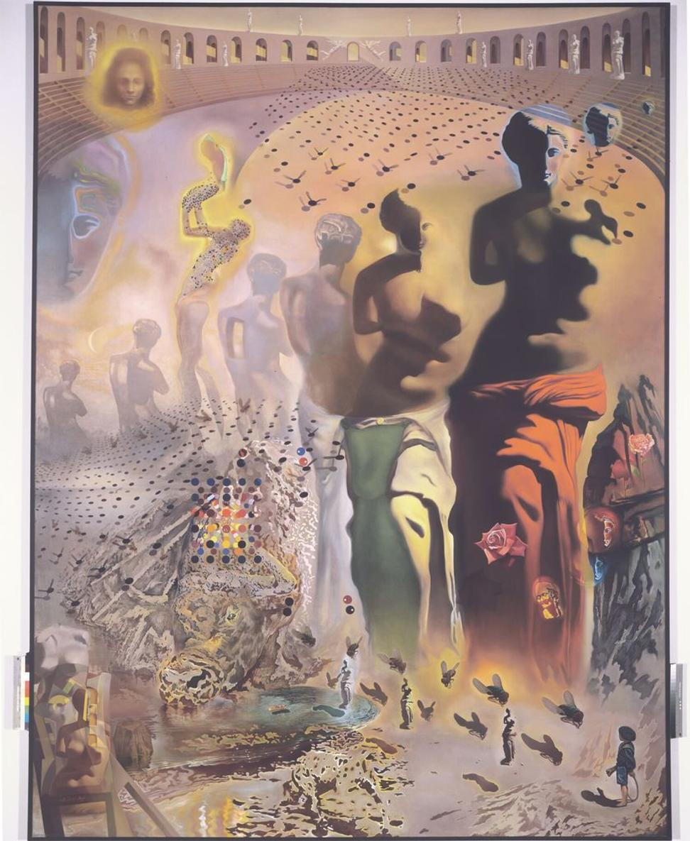 "Opening June 15, 2019, ""Visual Magic: Dali's Masterworks in Augmented Reality,"" will include The Hallucinogenic Toreador by Salvador Dalí, 1968–1970.  ©Salvador Dalí.  Fundació Gala-Salvador Dalí (Artists Rights Society), 2017 / In the USA ©Salvador Dalí Museum, Inc.  St.  Petersburg, FL 2017."