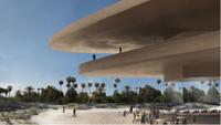 Rendering for a new LACMA building