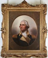The Columbus Museum announced today the acquisition of a pair of extraordinary portraits of George and Martha Washington by the important American artist Rembrandt Peale.  The portraits are a gift from Dan and Kathelen Amos.
