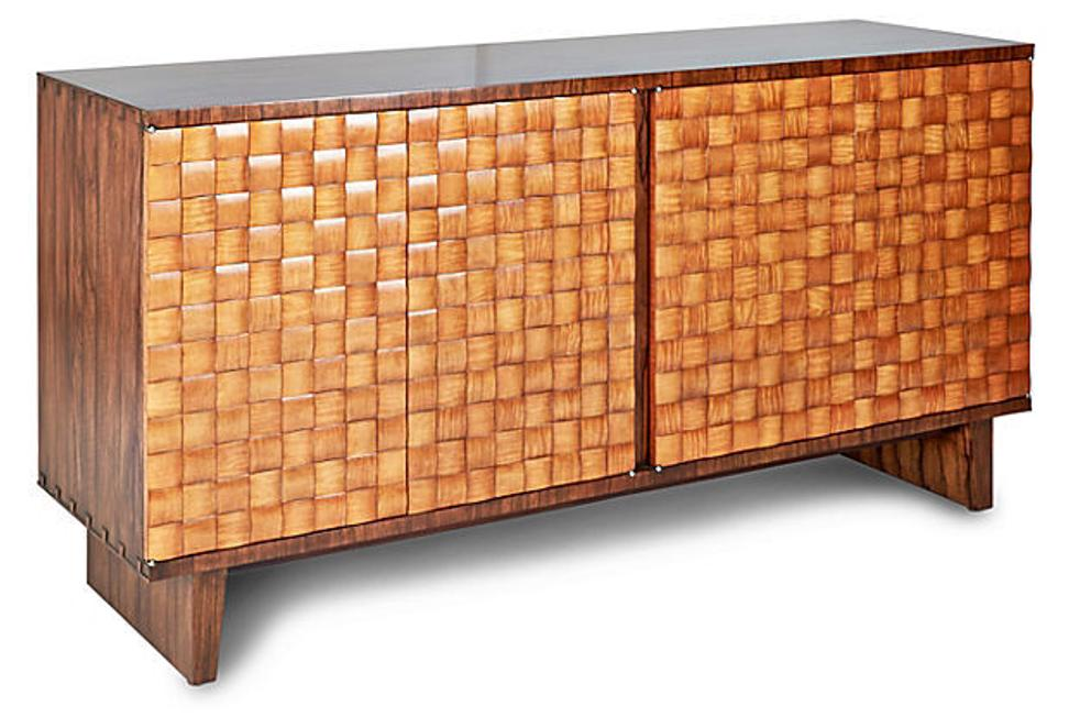 Checkerboard sideboard, designed by Keno Bros.  Sale price: $3,299.