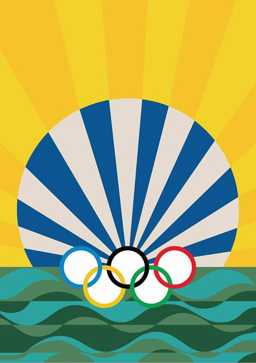 Official Posters For The 2016 Rio Olympics Artfixdaily