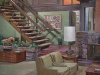 "Set design for ""The Brady Bunch"""