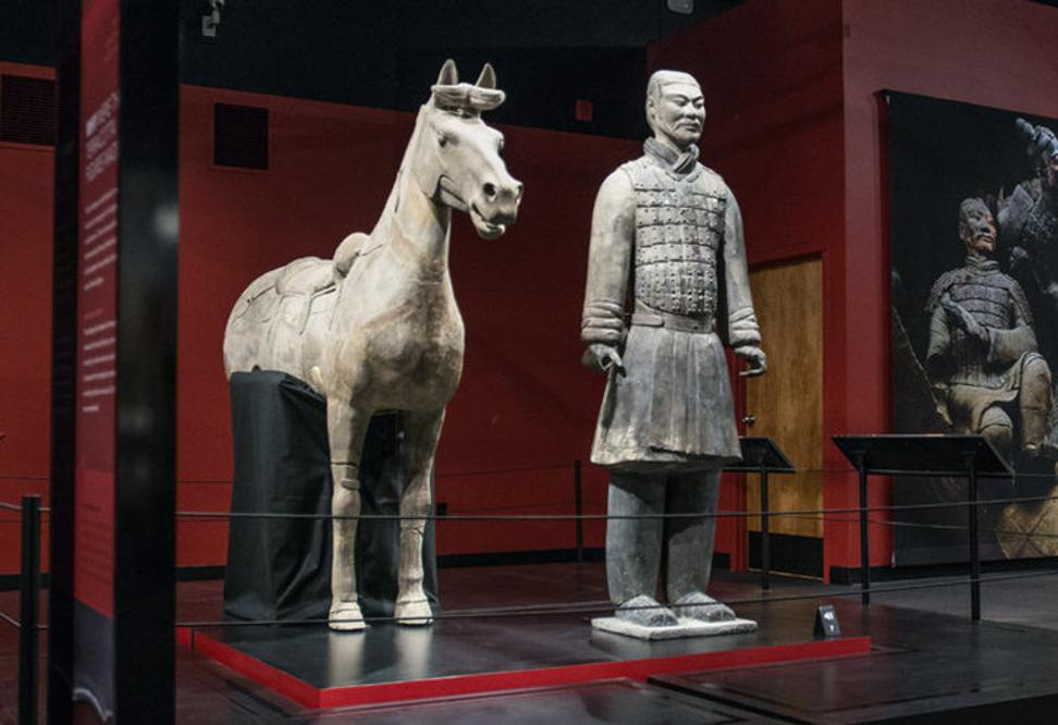 China angered by theft of Terracotta Warriors thumb