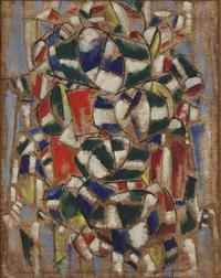 A painting attributed to Fernand Léger has been deemed a forgery in the Guggenheim collection.
