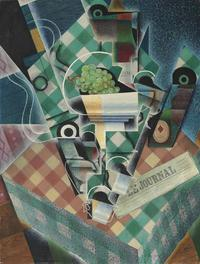 """Nature Morte a la Nappe a Carreaux"" by Juan Gris brought $56.8 million at Christie's on Feb.  4, 2014."