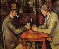 Paul Cezanne, The Card Players