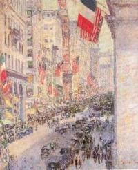 Childe Hassam, Up the Avenue from Thirty-fourth Street