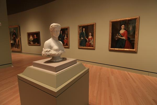 Gallery view.  Courtesy Crystal Bridges Museum of American Art.