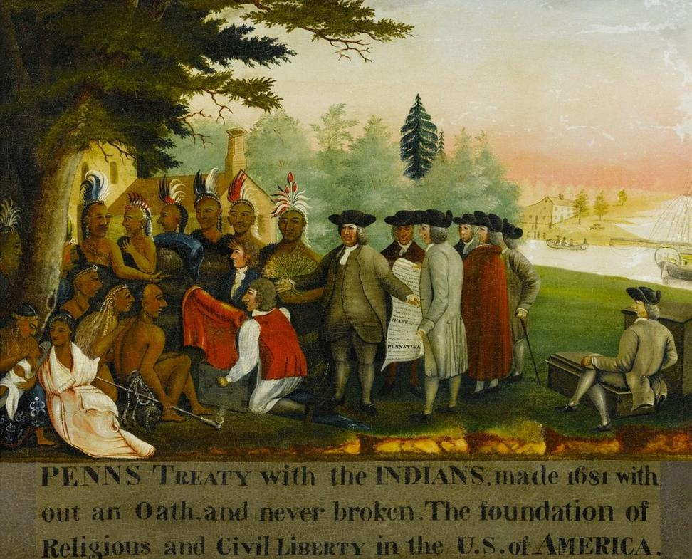 Edward Hicks, Penn's Treaty (estimate $800,000/1.2 million)