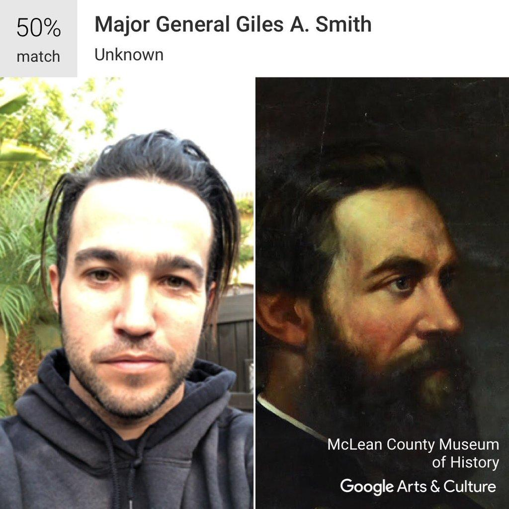 Google app matches your face to a famous painting