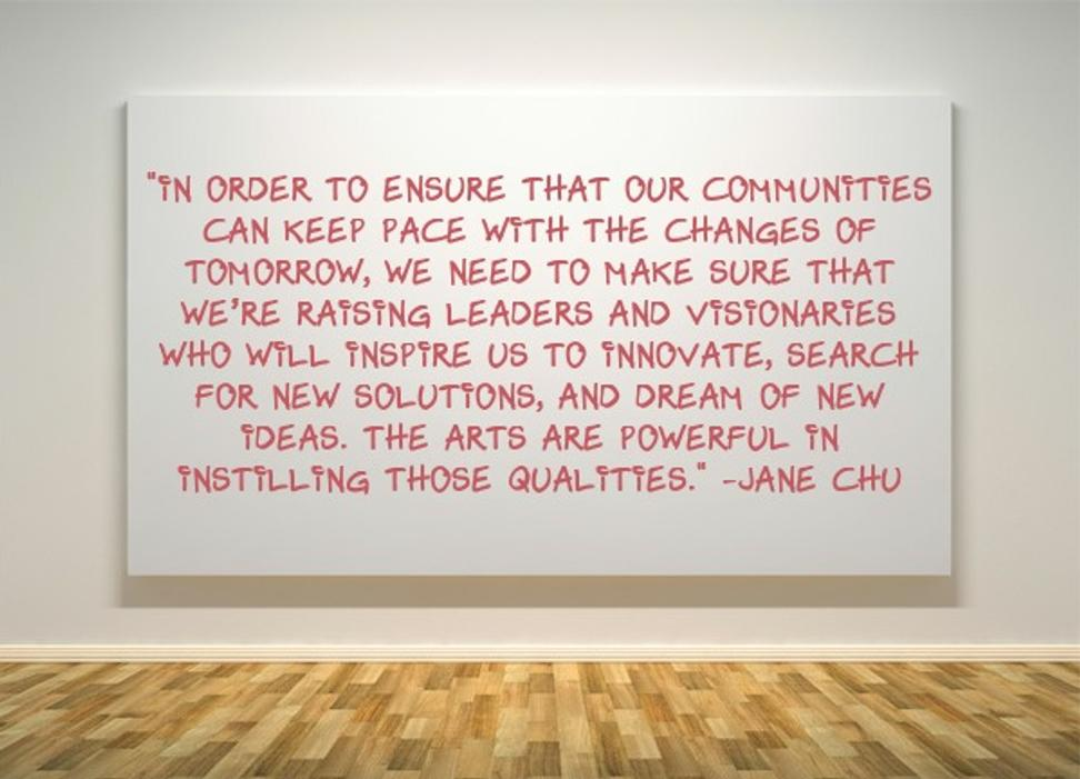 NEA Chairman Jane Chu quote