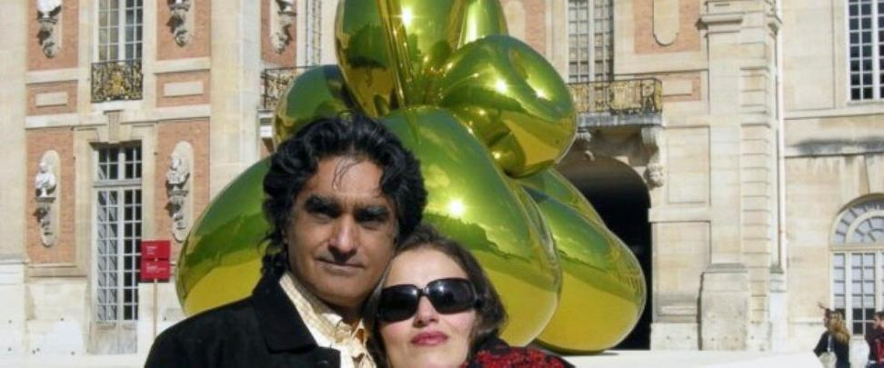 Undated photo of Iranian-American art dealer Karan Vafadari and his Iranian wife, Afarin Neyssari.  Vafadari was sentenced to 27 years in prison, while Neyssar, who has permanent residency in the U.S., received a 16-year sentence, the Center for Human Rights in Iran said Wednesday, Jan.  31, 2018.