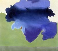 "Helen Frankenthaler, ""The Bay,"" 1963.  Acrylic on canvas."