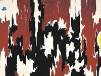 Clyfford Still's 1957-J-No.  2 was damaged in the Dec.  29 attack.