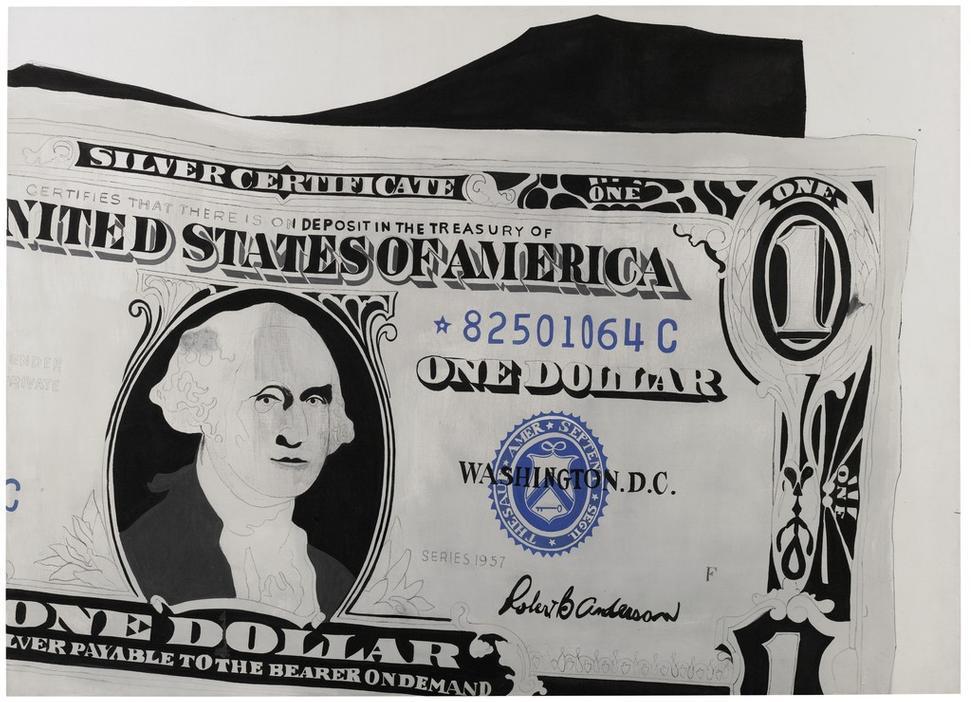 Sotheby39s Sells Warhol 1 Dollar Bill For 328 Million