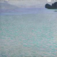 "Gustav Klimt, ""Lake Attersee (Am Attersee),"" 1900.  Oil on canvas, 31 5/8 x 31 5/8 in.  (80.2 x 80.2 cm).  Leopold Museum, 4148"