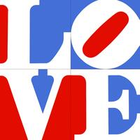 Artnet Auctions sold an edition of Robert Indiana's American love, 1972 prints, serigraph / screenprint, for $4,025 in March 2011.