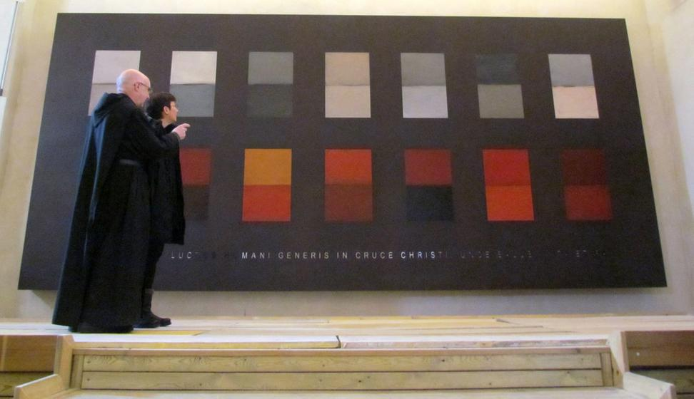 Artist Sean Scully Installs Permanent Display In Barcelona