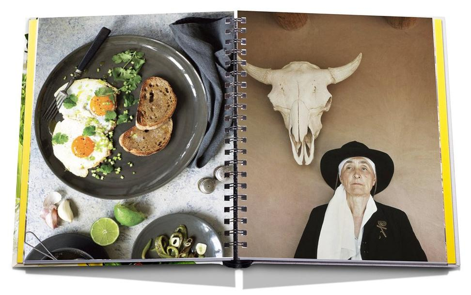 Dinner with Georgia O'Keeffe: Recipes,Art, Landscape by Robyn Lea