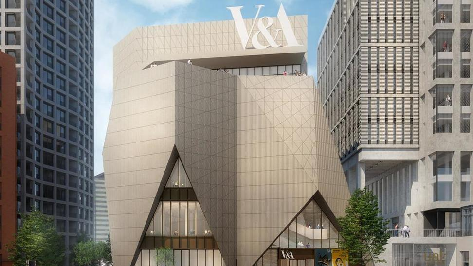 Rendering for the new V&A building
