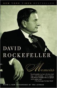 Cover of David Rockefeller Memoirs