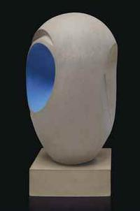 Barbara Hepworth, Sculpture with Colour (Eos), brought $5,429,00