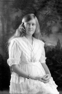 Huguette Clark as a teenager in the 1920s.