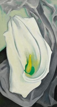 Georgia O'Keeffe, White Calla Lily from 1927 (estimate $8–12 million) brought $8,986,000.