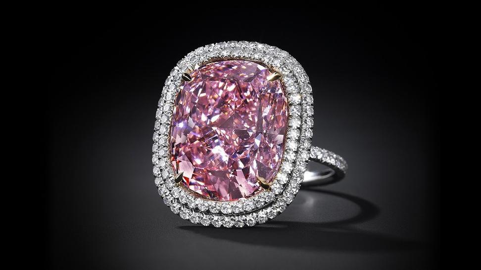 Canary Star Pink Diamond Rings