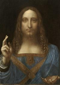 "Leonardo da Vinci's ""Christ as Salvator Mundi"""
