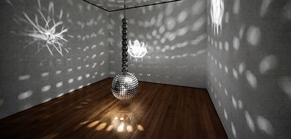 otto piene h ngende lichtkuge hanging light ball 1972 perforated