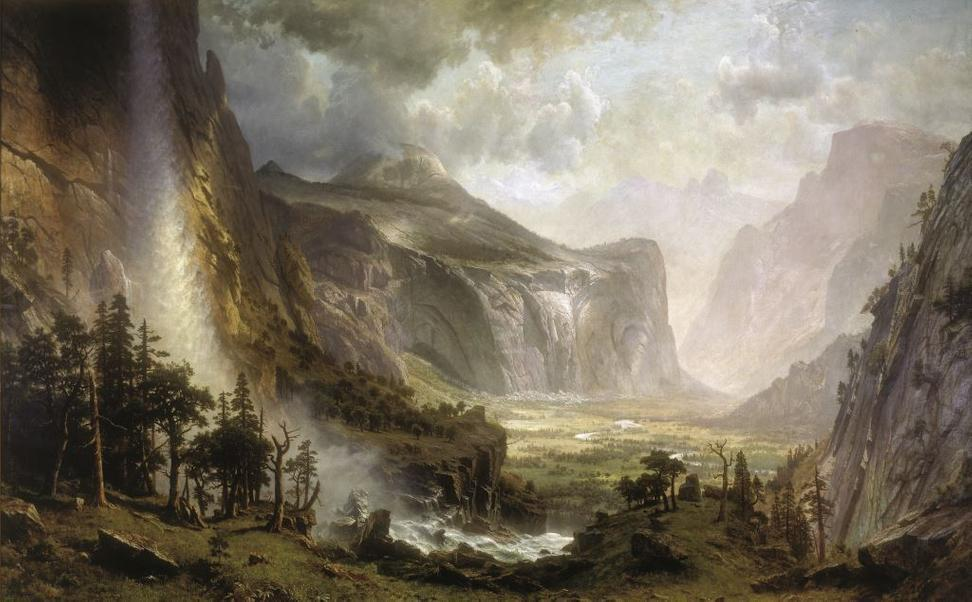 Albert Bierstadt, The Domes of Yosemite