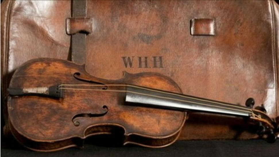 Iconic Titanic Violin Could Bring Record Price at Auction ...