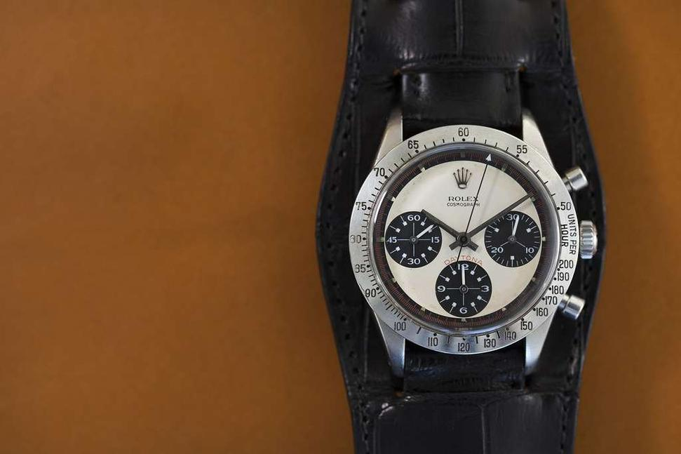 The record-setting Paul Newman Daytona wristwatch fetched $17,752,500 at Philips.