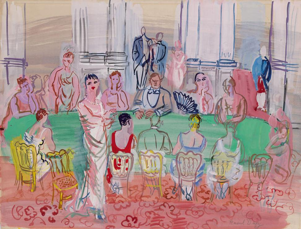 """La Fete,"" by Raoul Dufy, is slated for sale by the Berkshire Museum."