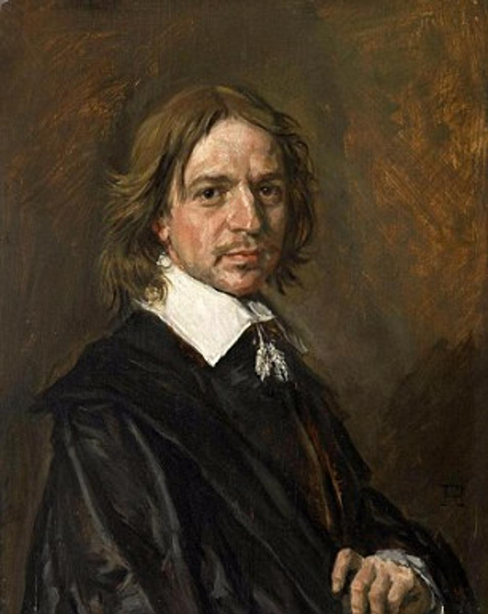'Unknown Man' portrait, said to be by Frans Hals