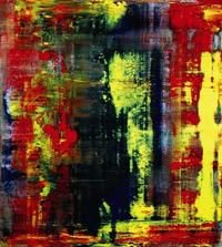 """Abstraktes Bild (809-4),"" a 1994 painting by Gerhard Richter will be offered at Sotheby's on Oct.  12."