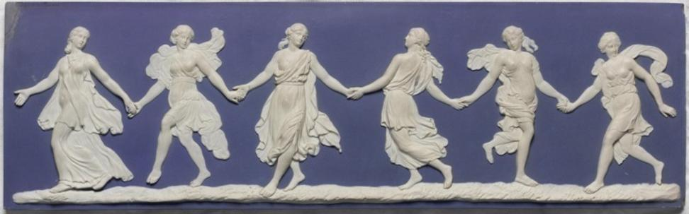 Wedgwood bas relief, The Dancing Hours, 1776.