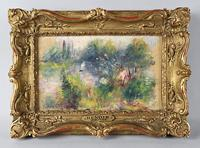 "Potomack Company will offer Renoir's ""Paysage Bords de Seine"" on Sept.  29."